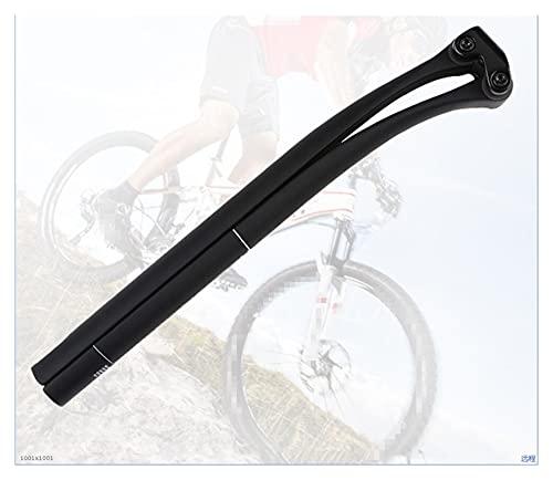 liangzai 5 Grados / 25 Grados Aptos para MTB Bike Bike Sillero Bicicleta Tubo de Fibra de Carbono Completo 31,6/30.8/27.2mm Tamaño Opcional Asiento Recto Poste Hilarity (Color : 27 2 25 Degree)