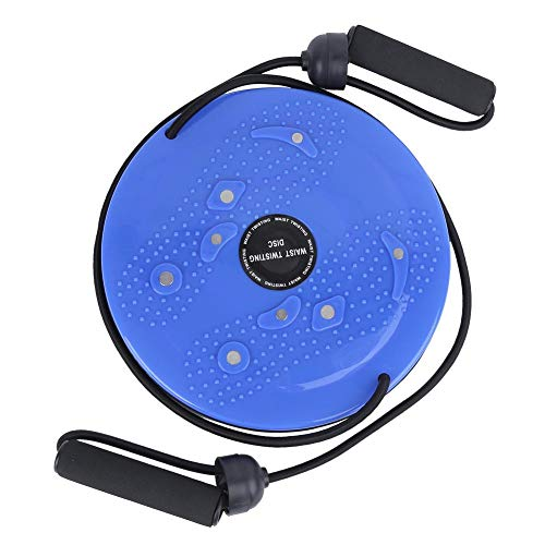 Alomejor Disco de Cintura giratoria con Cuerda de tracción Equipo de