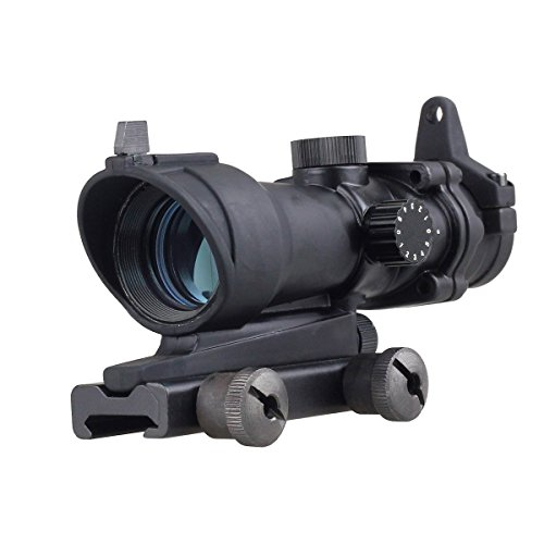 Higoo Tactical 1x32 Red/Green Illuminted Target Dot Reticle Airsoft Hunting Scope With 20mm Rail