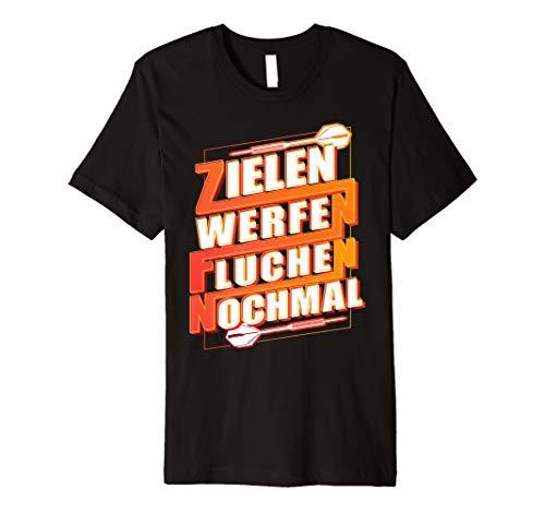 Dart Shirt Geschenk Für Dartscheibe, Dartpfeile & Darts Fans