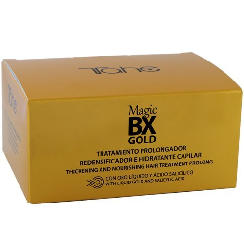 Tahe Magic BX Gold Tratamiento Capilar Redensificador Hidratante de Larga...