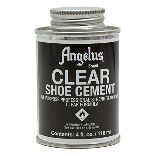 Angelus Shoe Contact Cement All Purpose Glue Clear 4oz