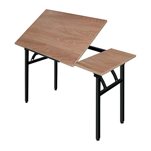 Frylr Drafting Table Drawing Desk with Tiltable Tabletop