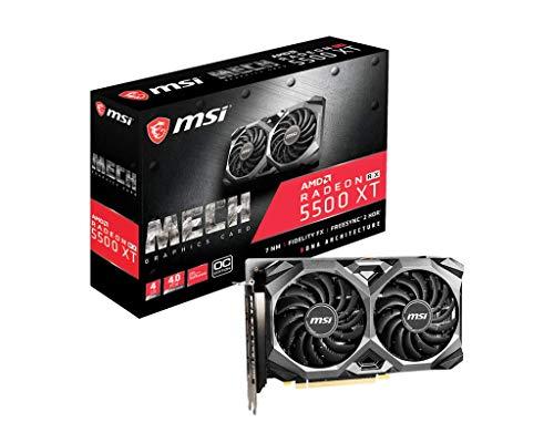 MSI AMD Radeon RX 5500 XT Mech OC 4GB Grafikkarte GDDR6 HDMI/3x DP