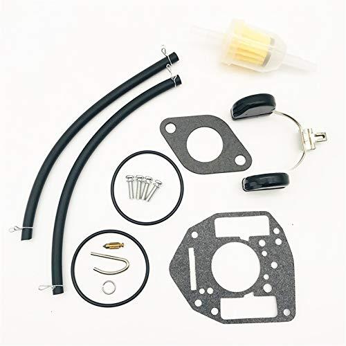 FMSBSC Kit de reconstrucción de reparación de carburador Compatible con ONAN 146-0657 P216G P218G P220G P224G