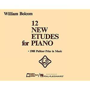 12 New Etudes for Piano: Piano Solo