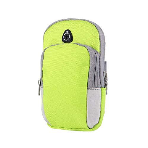 Sport Outdoor Arm Tasche Fitness Multifunktions-Handy Schlüssel Brieftasche Laufen Armband Armband Tasche Nylon Laufen Armband Handy Tasche