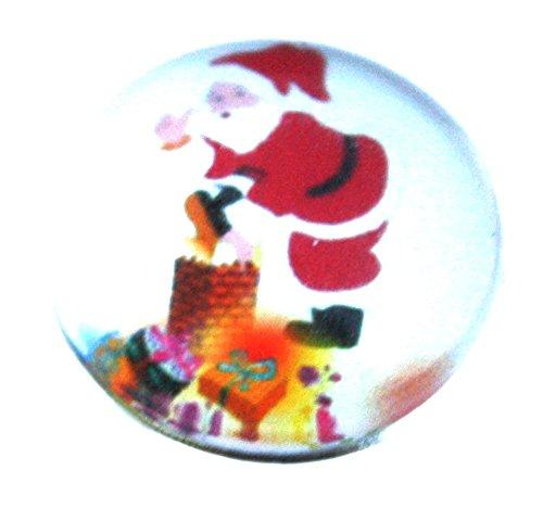 Susis Fashion Shop Chunk Druckknopf Button Weihnachtsmann Schornstein mit Geschenken