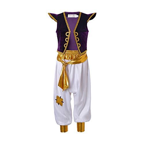 Pettigirl Boys Arabian Prince Costume Street Rat Suits 5t