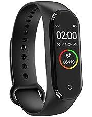 M4 Smart Watch Bileklik Kalp Hızı Kan Basıncı Nabız Pedometre