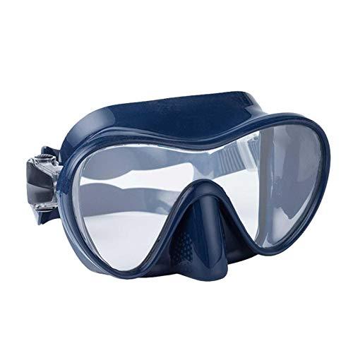 Yeeyf Gafas de buceo – Gafas de buceo – Gafas de buceo – Gafas de buceo – Gafas de esnórquel de vidrio templado sin fugas anti niebla máscara de buceo para adultos y jóvenes