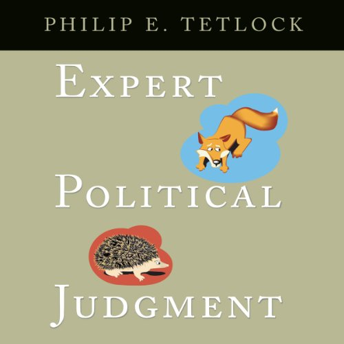 Expert Political Judgment audiobook cover art