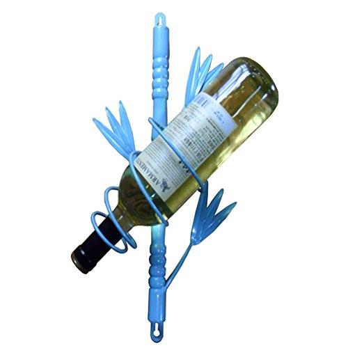 TYHZ Botelleros Vino Pared De La Botella De Vino En Rack Marco Metálico Flotante Que Viven Estantes De La Cocina (tamaño: 23 * 10 * 40 Cm) botellero (Color : #1)