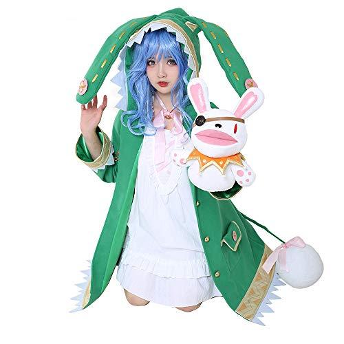 Date A Live Yoshino Disfraz de Cosplay Chaqueta de Lolita gótica Vestido...