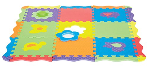 Edushape Play & Sound Mat 40'x40', 25 Piece