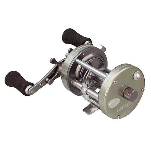 Lews Fishing LXLC60 Laser XL Baitcast Reel, 4.2: 1 Gear Ratio, 18.70\