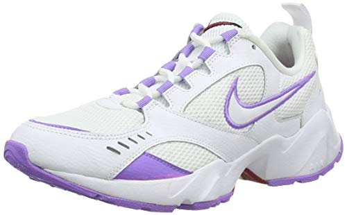 Nike Air Heights, Zapatillas de Trail Running Mujer, Blanco (White/White/Noble Red 100), 40 EU
