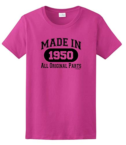Made in 1950 All Original Parts T Shirt - 8 Colors