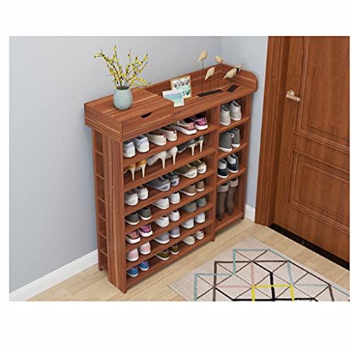 QIFFIY El zapatero de almacenamiento ahorra espacio y el zapatero de la entrada organiza la capa de zapatero (color: B)