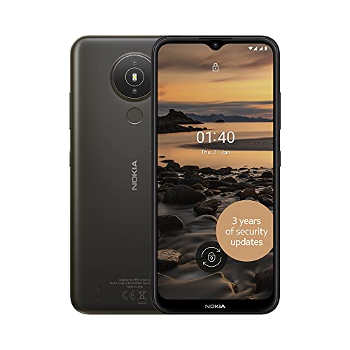 Nokia 1.4 6.51 Inch Android UK SIM Free Smartphone with 2 GB RAM and 32 GB...