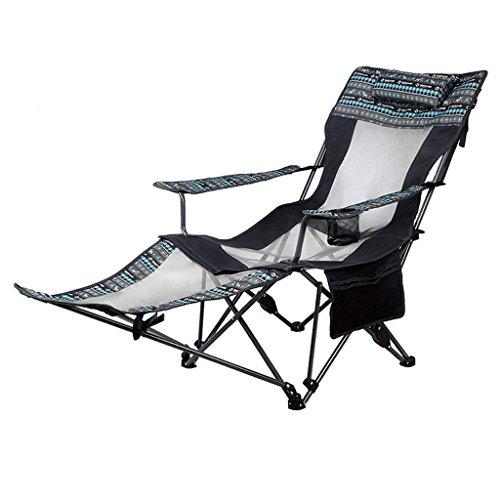 C-Xka Im Freienfreizeitklappstuhl-Recliner-Tragbare Siesta-Bett-Stuhl-Wilder Klappstuhl Entspannen Sich Bequeme Familien-Reise im Freien (Größe : A)