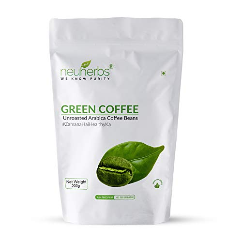 Neuherbs Green Coffee Beans Your Natural Immunity Booster And Weight Loss Partner: 200 G