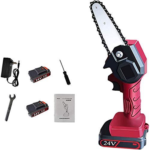 Sierra de poda eléctrica Mini motosierra Una batería partir de 4 pulgadas...