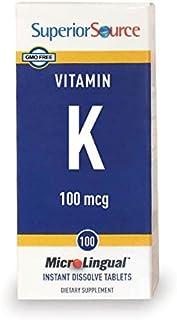 Sponsored Ad - Superior Source Vitamin K1 Multivitamins, 100 mcg, 100 Count