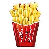 ZHANGXU Fries 175cm Gigante Francés, Piscina Inflable Boya, Reclinado Anillo De La Natación For Adultos, Partido De Mar Juguete Reclinable Cushion