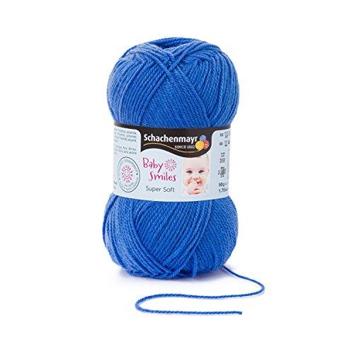 Schachenmayr Baby Smiles Super Soft 9807527-01053 himmelblau Handstrickgarn, Häkelgarn, Babygarn