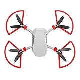Hensych - Kit di protezione per eliche a sgancio rapido, 4 pezzi, per accessori per droni Mavic Mini/Mavic Mini 2, colore: Rosso