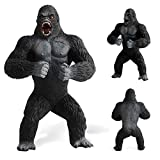 bueqcy Simulation Animal Model Toys, King Kong and Godzilla Figurines Toys, for Gaint Monster Fans, Childs Boy Friends, Funny Home Decorate (King Kong, A)