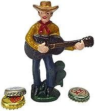 Abridor de garrafa de ferro fundido Pete The Cowboy Design Toscano Cactus, Unitário, Single, 1