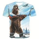 SSBZYES Camiseta para Hombre, Camiseta De Verano De Gran Tamaño, Camiseta De Manga Corta Estampada para...