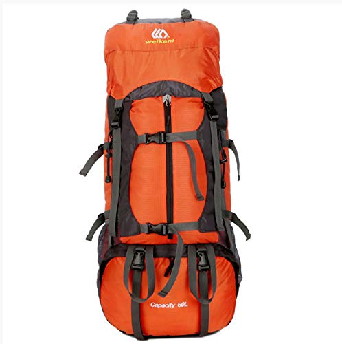 Outdoor Sports Backpack Professional Mountaineering Bag 60L High Capacity Hiking Feature Pack Camping Double Shoulder Bag Outdoor Sports Backpack Professional Mountaineering Bag 60L High Capacity Hiki