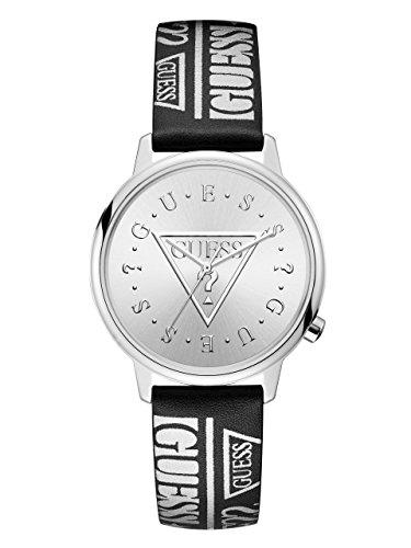 GUESS Originals Damen-Armbanduhr 38mm Armband Leder Schwarz Batterie V1008M1