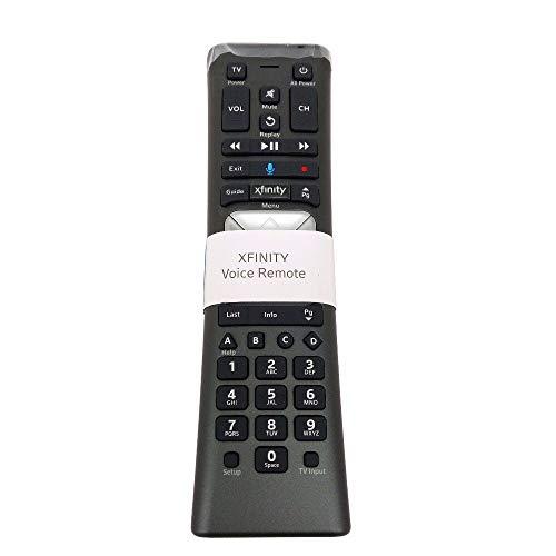 Calvas XR11 Premium Voice Activated Cable TV Backlit Remote Control Comcast/Xfinity XG1 Xi3 X1 Series