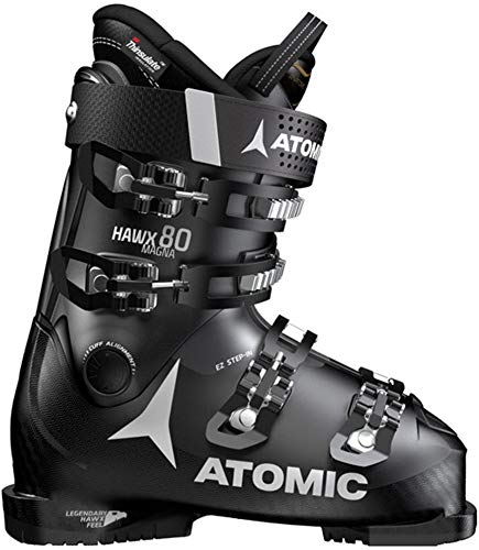 Atomic HAWX Magna 80 Ski Boots Mens Sz 12/12.5 (30/30.5) Black/Anthracite