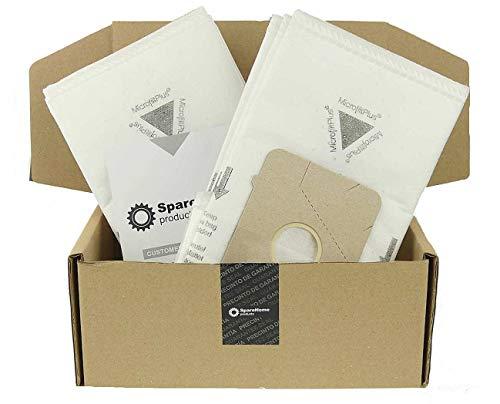 SpareHome - 10 Bolsas de Alto Rendimiento para aspiradores U