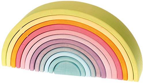 Grimm's Regenbogen 12-teilig Pastell