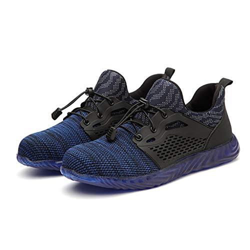 bon comparatif Baskets d'été ZYFXZ tressées en acier avec embouts, chaussures de travail avec protection antidérapante et anti-crevaison… un avis de 2021