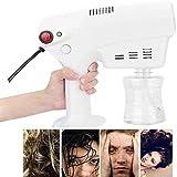 Alittle Multifuncional Nano Steam Gun Hidratante Máquina Cuidado del cabello Spa Humidificador Herramienta de diseño para el hogar y salones de belleza, 260 ml
