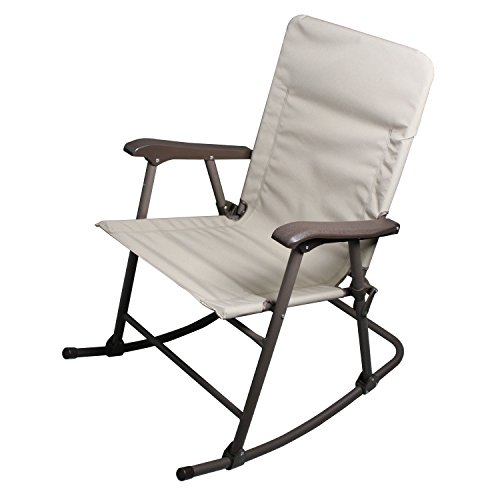 Prime Products 13-6506 Elite Arizona Tan Rocker Folding Chair