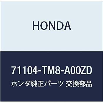 Honda Genuine 71104-TM8-A00ZQ Towing Hook Cover