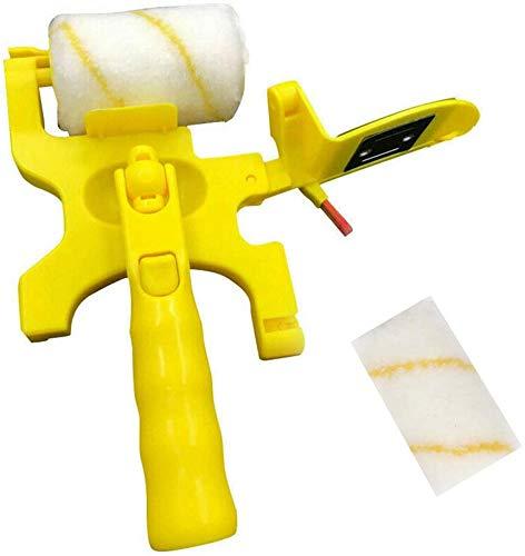 Cepillo de Rodillo de Pintura Borde de Pintura de Corte Limpio Cepillo de Rodillo Herramientas de Mejoras Para El Hogar Suministros de Pintura Para Techos de Pared (Rollers)