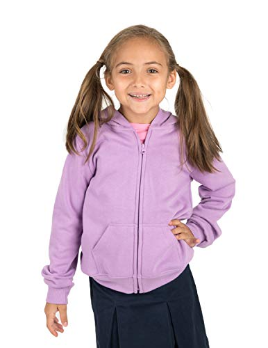 Leveret Kids & Toddler Boys Girls Sweatshirt Hoodie Jacket Purple (Size 3 Years)