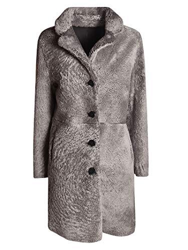 Luxury Fashion   S.w.o.r.d 6.6.44 Dames 1076STEELGREY Grijs Wol Mantels   Herfst-winter 19
