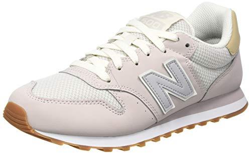 New Balance Damen 500 Sneaker, Violett (GW500HHI), 43 EU