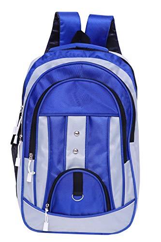 Faturi Casual Waterproof Laptop Bag/Backpack for Men Women Boys Girls/Office School College Teens & Students – Blue Color