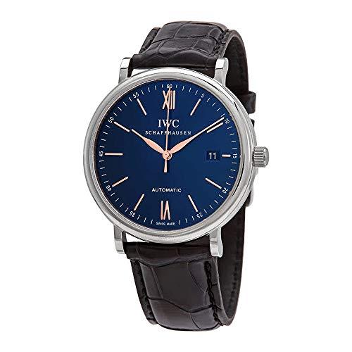 IWC Portofino Automatic Blue Dial Men's Watch IW356523